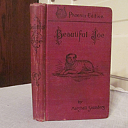 1903 Beautiful Joe, True Dog Story by Marshall Saunders, Charles H Banes Publisher
