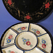 Japanese Condiment Set in Box, Marulon Ware