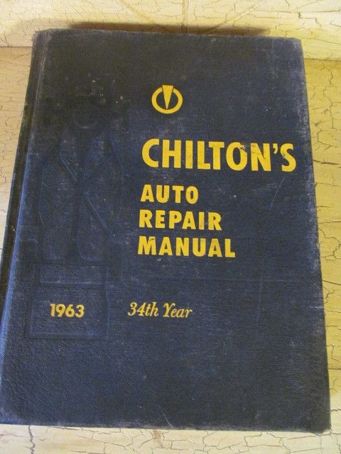 Chilton 1963 Auto Repair/Parts Manual