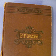 1877 Memoirs of P(philip) P Bliss, First Edition