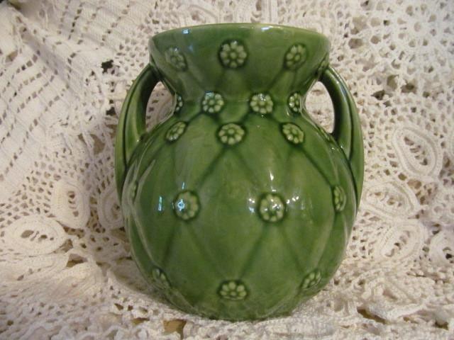 "Pretty Shawnee 7 1/2"" Handle Vase"