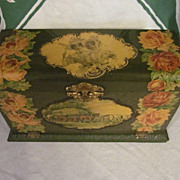Lovely Celluloid Upright Vanity Box