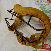 Old Baseball Face Mask