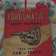 1956 Ford Car & Truck Shop Manual
