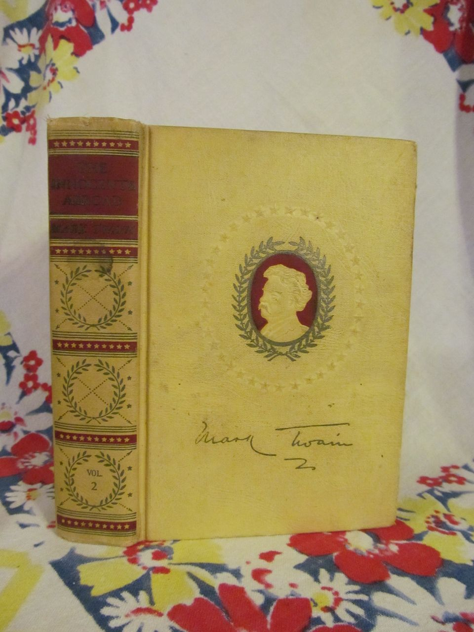 Mark Twain,Innocents Abroad,Vol 2,American Artist & Authorized Edition,Harper Brothers