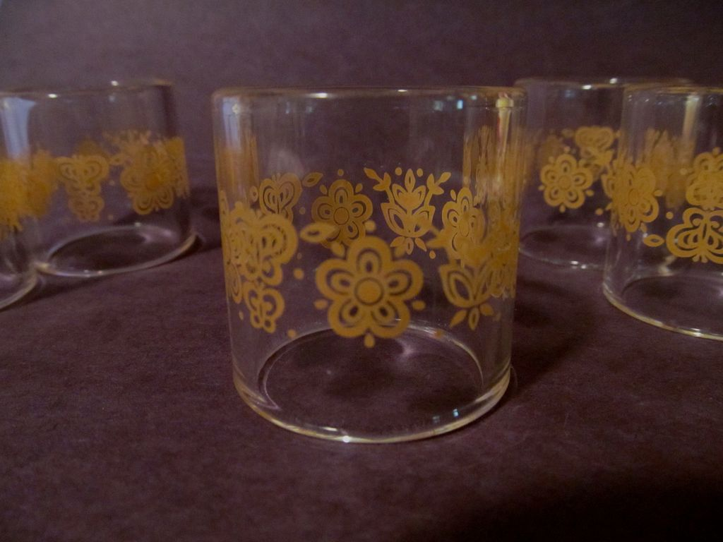 6  Butterfly Gold Napkin Rings