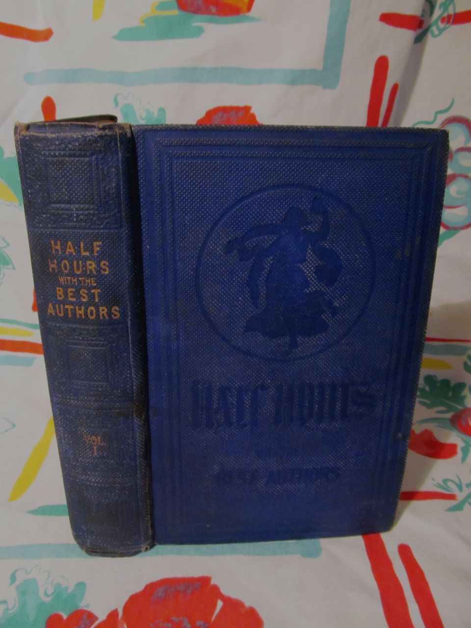 Half Hours with the Best Authors,1850+,Charles Knight,Vol One