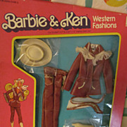 Barbie 1981 Western Fashion Outfit #3579,NRFB