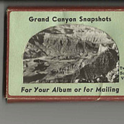 12 Glossy Souvenir Scenic Snapshots of Grand Canyon