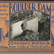Boulder Dam Postcard Souvenir Set