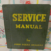 1950's John Deere GM 2.-53 Original Dealer Service Manual