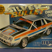 MPC Sealed 1980 Silver Bullet Omni 024, 1/25 Scale Model Kit
