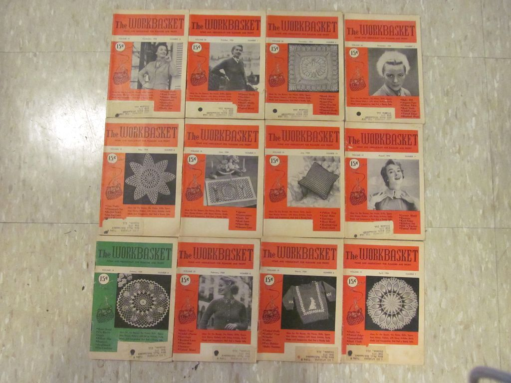 12 THE WORKBASKET MAGAZINE 1948-49 VOLUME 14 OCTOBER-SEPTEMBER NO. 1-12