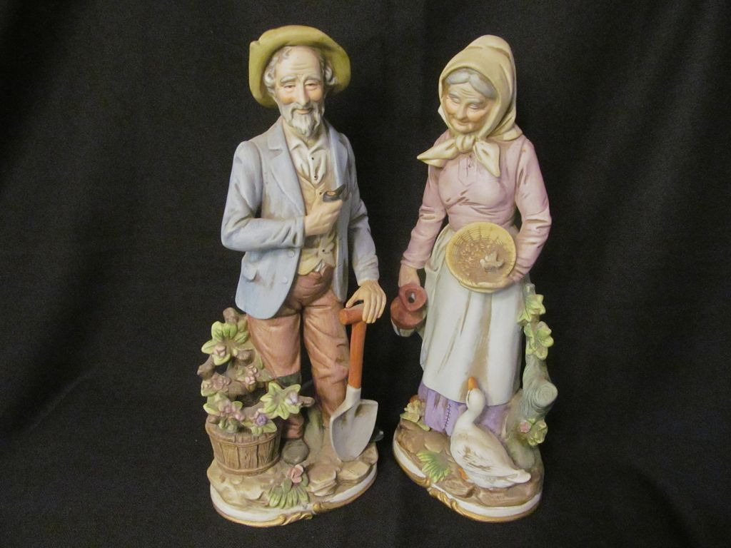 home interior collectibles homco 13 3 4 quot figurines 8816 sold on ruby 12191