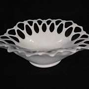 "Westmoreland Doric,13 1/4"" Lattice Bowl"