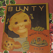 1935 Bunty Pop Up Book, Whitman