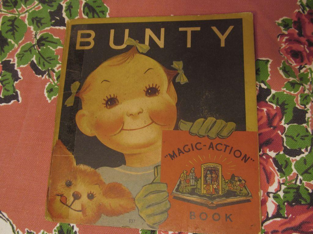 1935 Bunty Pop Up Book, Whitman