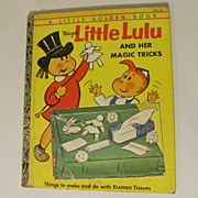 "Children's Golden Book ""A"", Marge's Little Lulu, Kleenex,Magic Tricks"