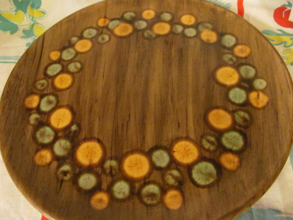"Madeline Originals 14 1/2"" Platter, California"