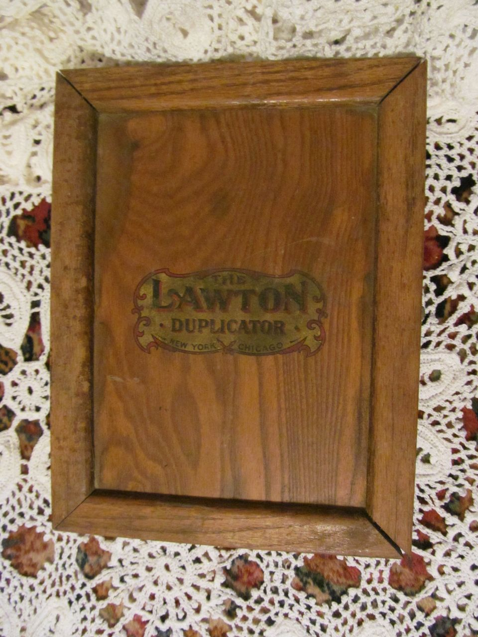 Lawton Duplicator, Copier,Hektograph Mfg & Dup Co
