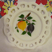 Hocking, Gay Fad Lacey Edge Plate