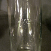 Hygeia Wide Mouth Baby Bottle,Pat 1894-1916