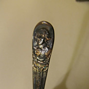 Wm Rogers, George Washington Presidential Spoon, Silverplate