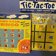 Regal Find A Car Bingo & Tic-Tac-Toe Travel Games