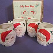 Winking Eye Santa Mugs with Box
