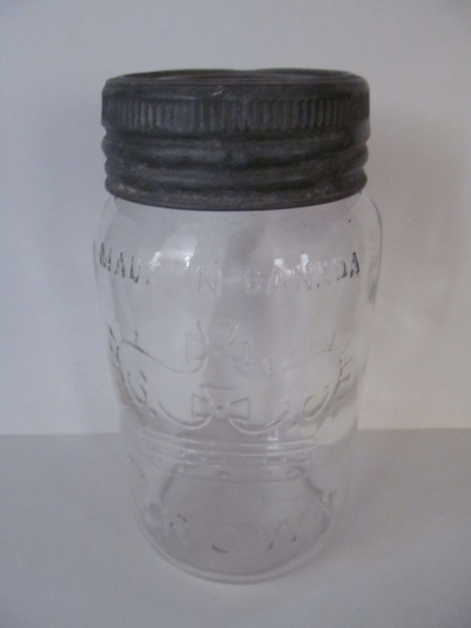 1949 Crown Canada Quart Canning Jar