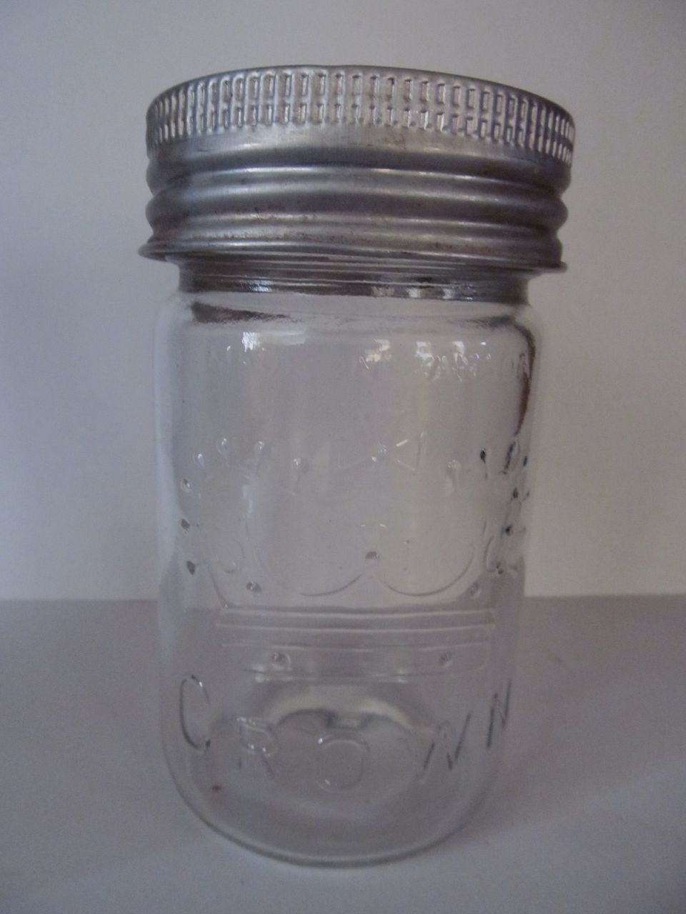 1959 Pint Crown Canada Canning Jar