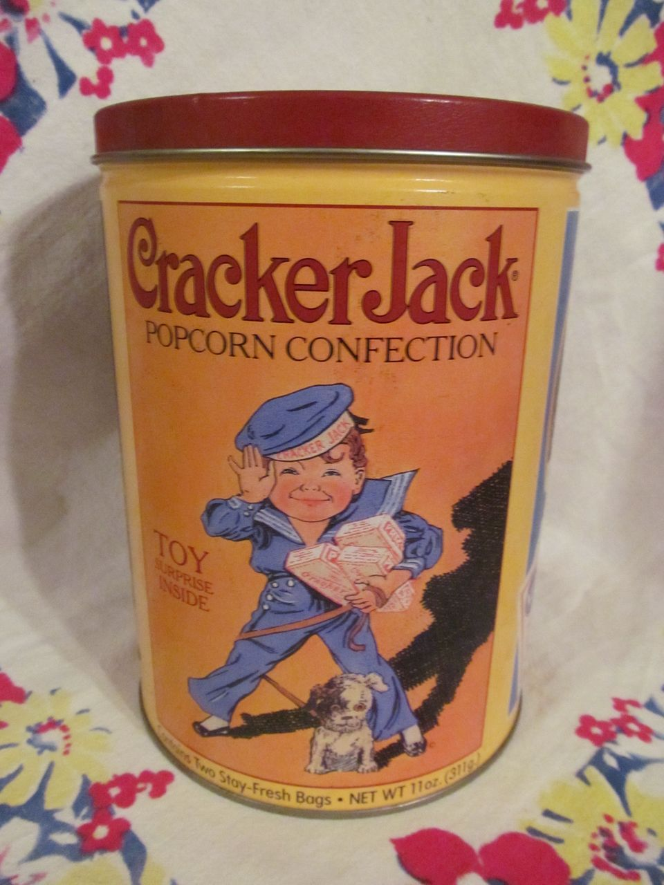1991 Cracker Jack Tin, 2nd in Series