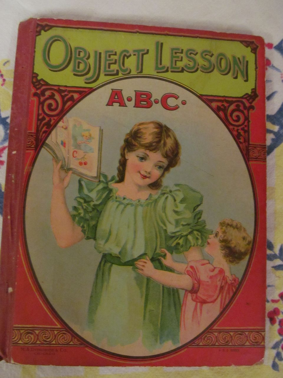 Early Donohue ABC, Puss & Boots Primer Children's Book