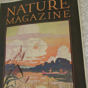 1930 Nature Magazine, May, Vol 15, No 15