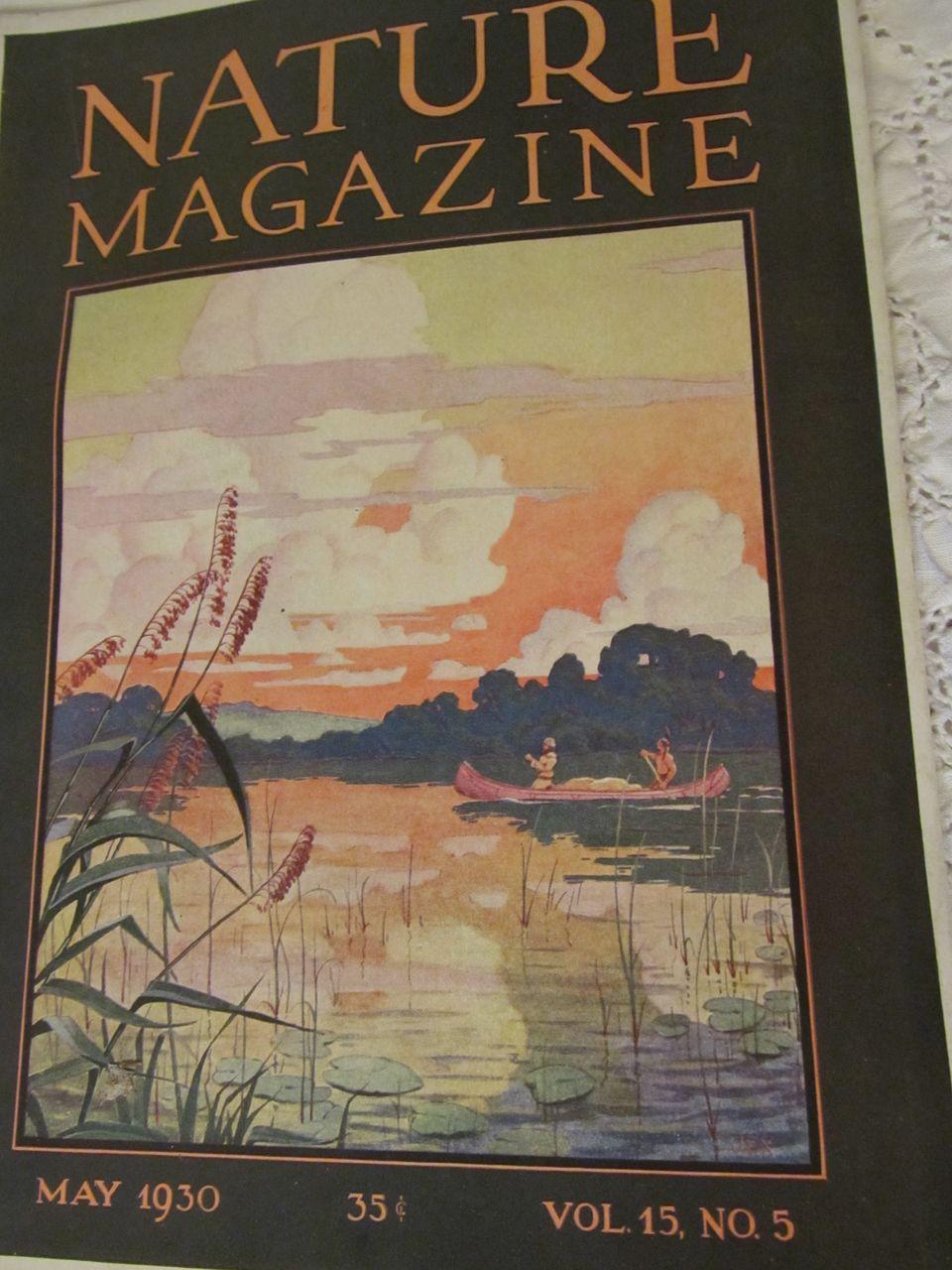 1930 Nature Magazine, May, Vol 15, No 15