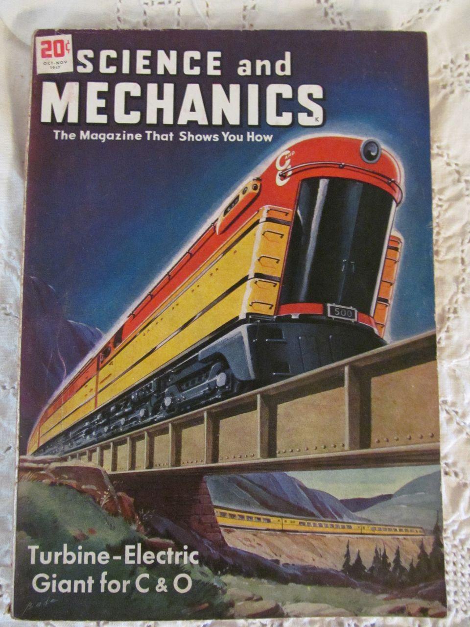1947 Science & Mechanics Magazine, Oct-Nov