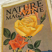 1928 Nature Magazine, May, Vol 11, No 5