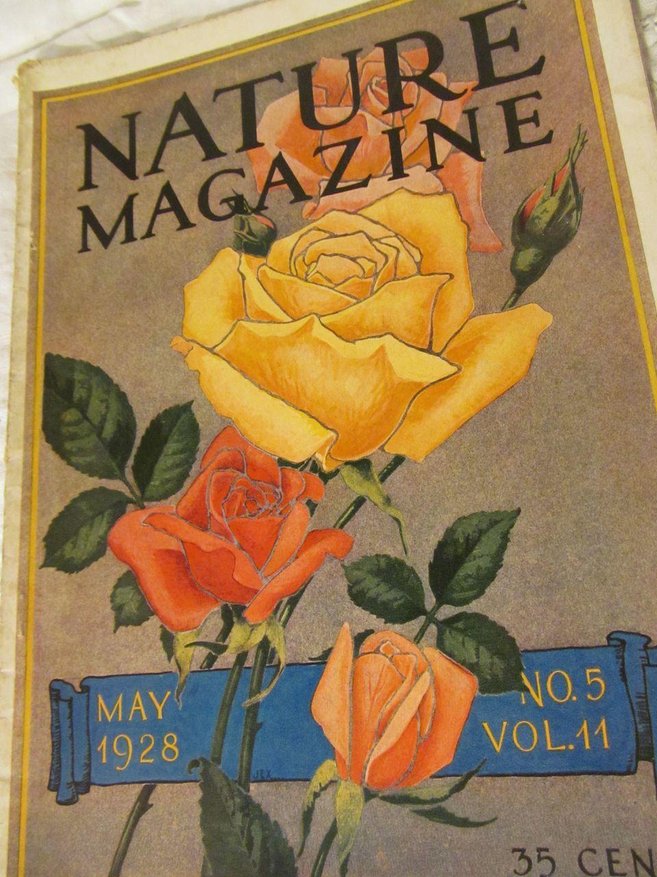 1928 Nature Magazine, May, Vol 11, No 5