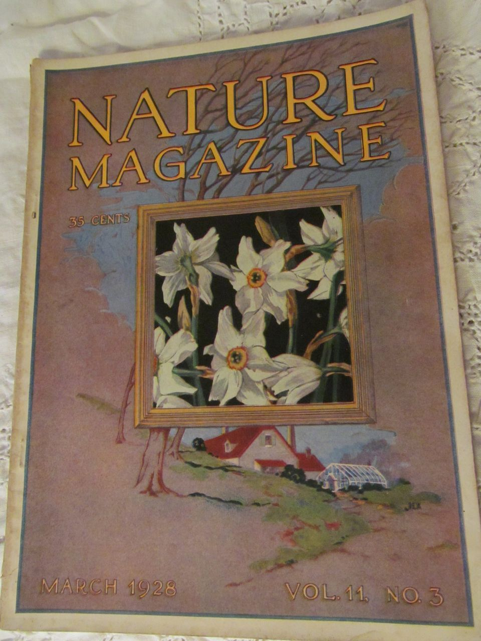 1928 Nature Magazine, March, Vol 11, No 3