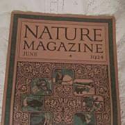 1924 Nature Magazine