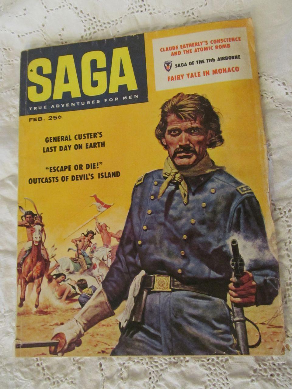 1956 Saga, February Magazine