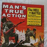 1956 Man's True Action, June Magazine