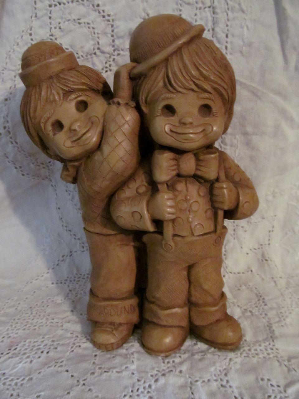 "1980 Fannykins, Clownin Around, 8 3/4""  Statue Figurine"