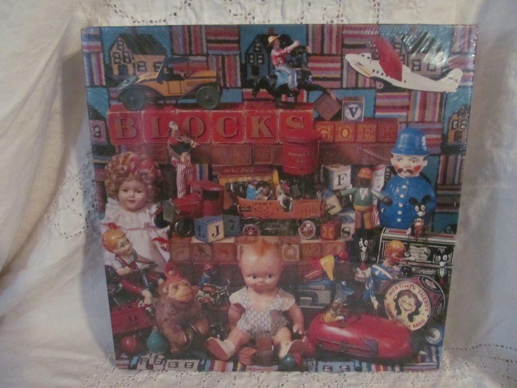 1988 Springbok, Hallmark Jigsaw Puzzle, Playthings from the Past,MIB