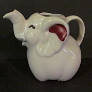 Shawnee Elephant Creamer