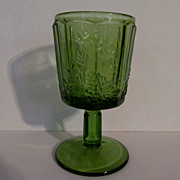 LG Wright Paneled Grape Goblet