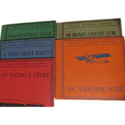 5  1928/29 Social Science Readers, Read, Eleanor Lee, Kindergarten, 1st Grade