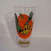 1976 Aquaman Super Hero, Super Series Glass