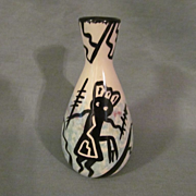 Lovely Mana Pottery Apache Vessel