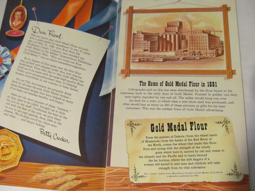 1880-1955 Gold Medal Flour Jubilee Cook Book